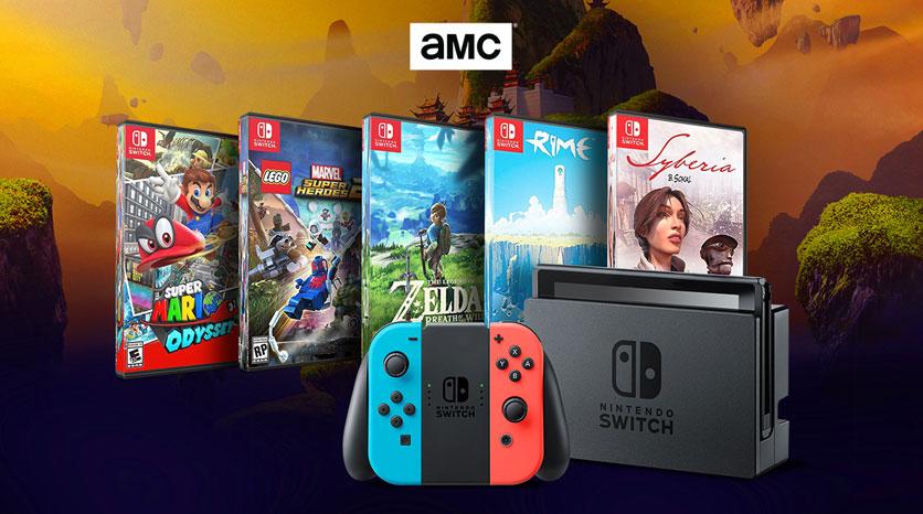 Unete Al Club Amc Y Gana Una Nintendo Switch Con 5 Juegos Amc Espana