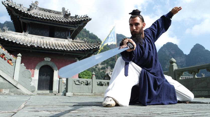 Alex con la Espada Jian