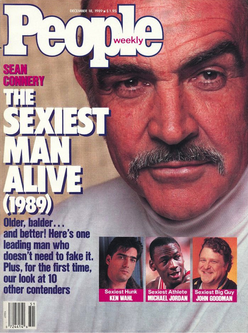 sexiest man alive sean connery