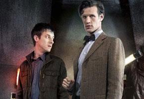 Arthur Darvill, Matt Smith from 'Doctor Who'