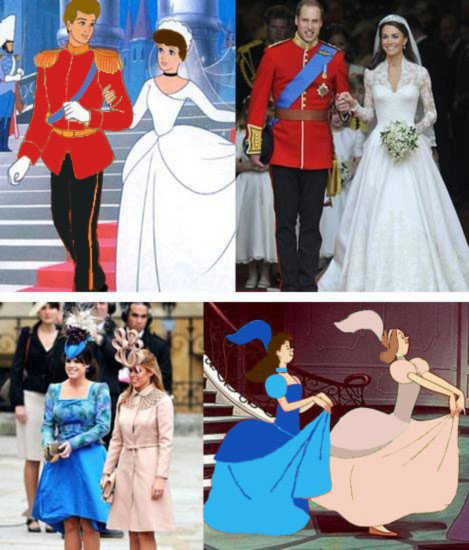 0b15ccc57a6ad Royal Roundup  Disney Homage to Royal Wedding Goes Viral ...
