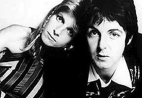 Linda and Paul McCartney