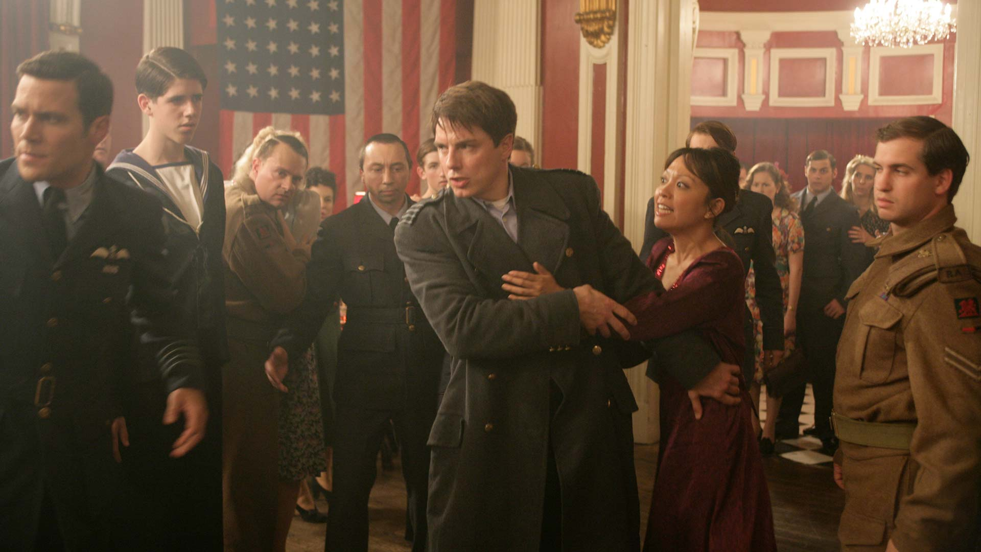Captain Jack Harkness Torchwood Bbc America