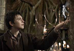 Charlie Rowe as Peter in 'Neverland'
