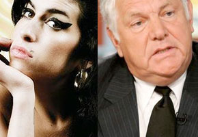Amy Winehouse and William J. Bennett
