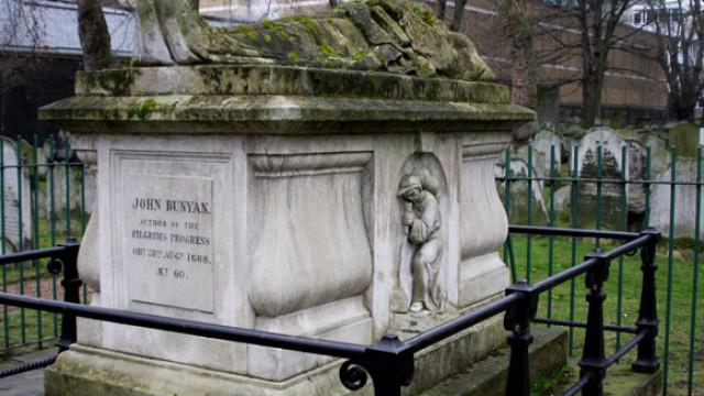 John Bunyan – Bunhill Cemetery, London
