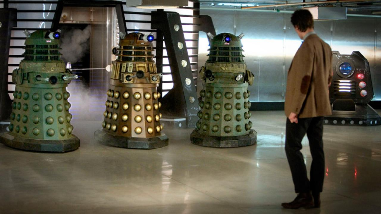 Dalek Ship