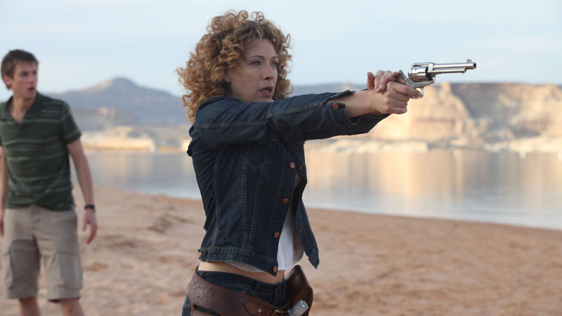 River Song and Rory Williams