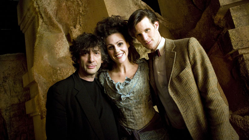 Matt Smith, Suranne Jones and Neil Gaiman