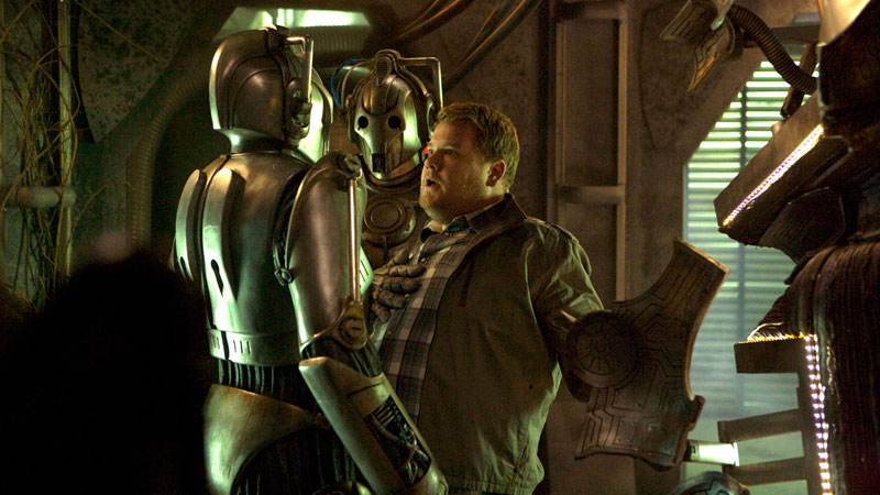 Craig and the Cybermen.