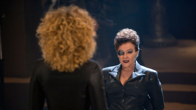 River Song and Madame Kovarian