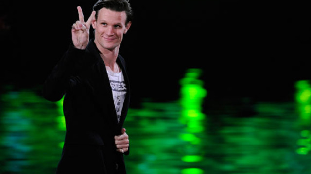 Doctor Who star Matt Smith was victorious at Spike TV's Scream Awards, which aired last night. Fans voted him Best Science Fiction Actor over Cowboys & Aliens's Daniel Craig, Source Code's Jake Gyllenhaal, and Captain America's Chris Evans. (AP Photo/Chris Pizzello)