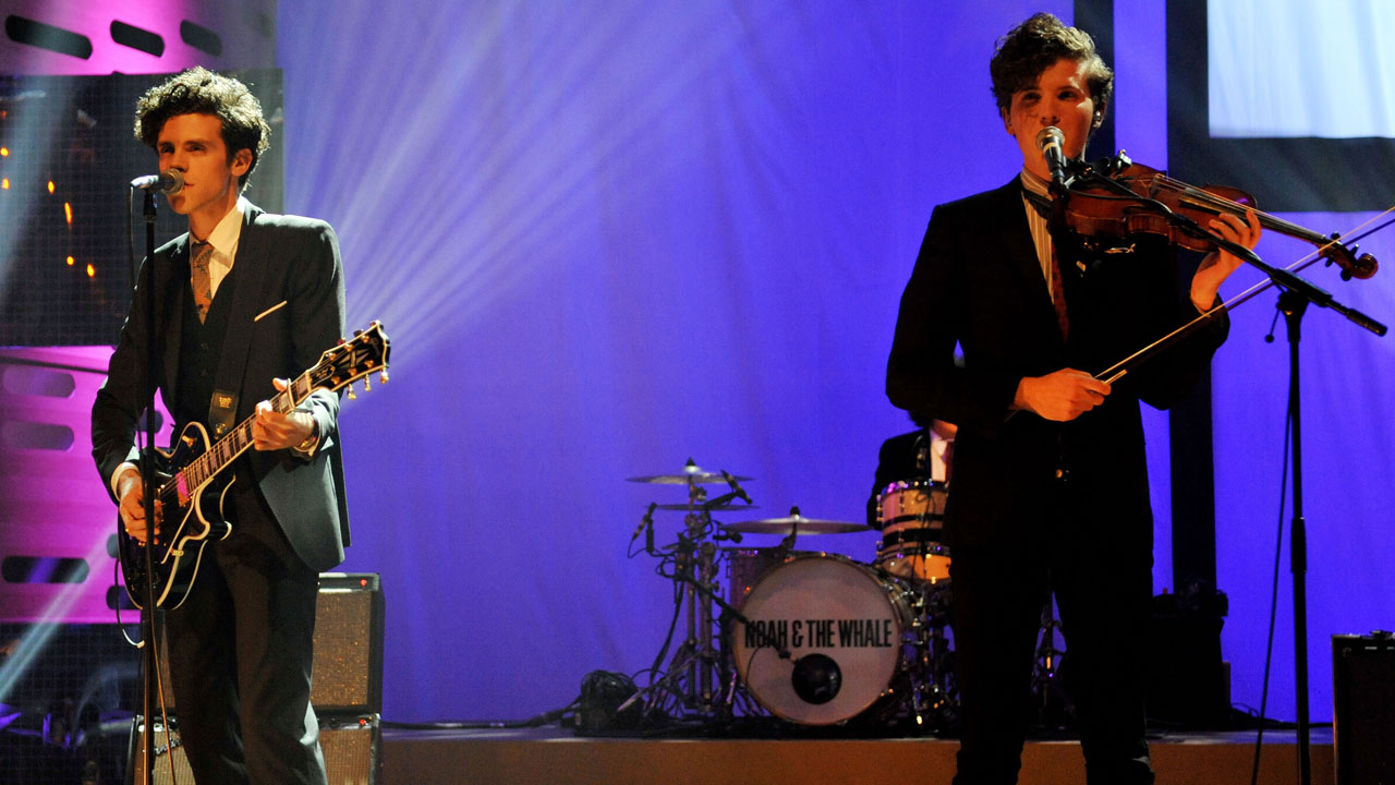 English folk outfit Noah & The Whale perform during the Season 10 premiere of 'The Graham Norton Show'