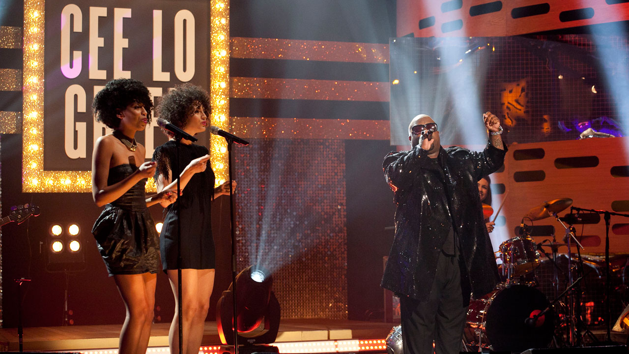 Cee Lo performs during episode 11.