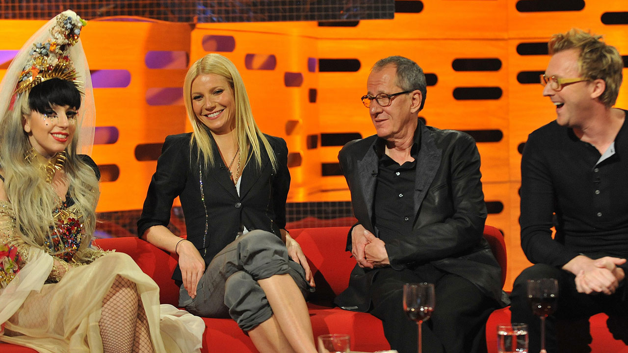 Lady Gaga, Gwyneth Paltrow, Geoffrey Rush, Jason Byrne