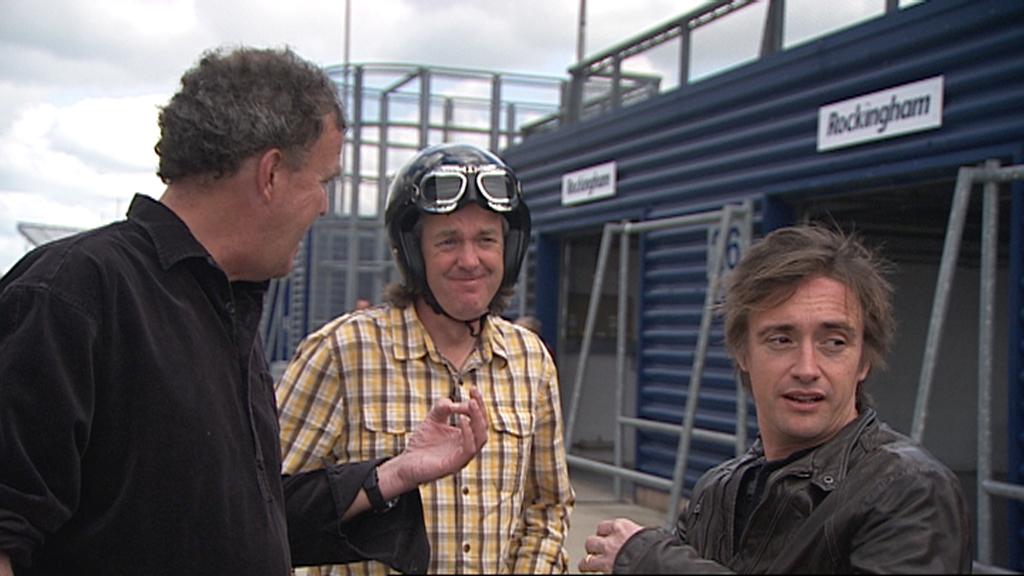 Jeremy, James and Richard praise the Alfa Romeo.