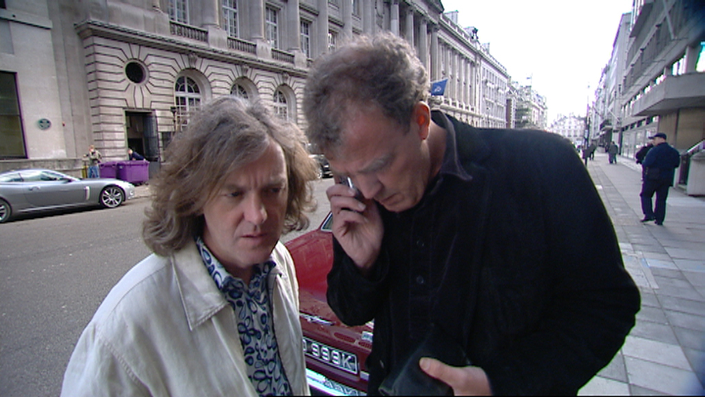 James and Jeremy attempt to pay for parking by phone