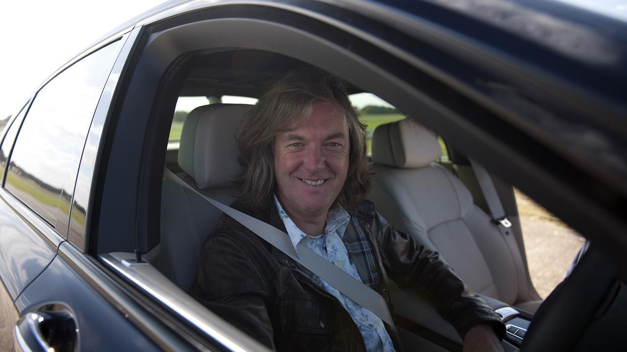 James pays someone to drive him around in the BMW 760Li