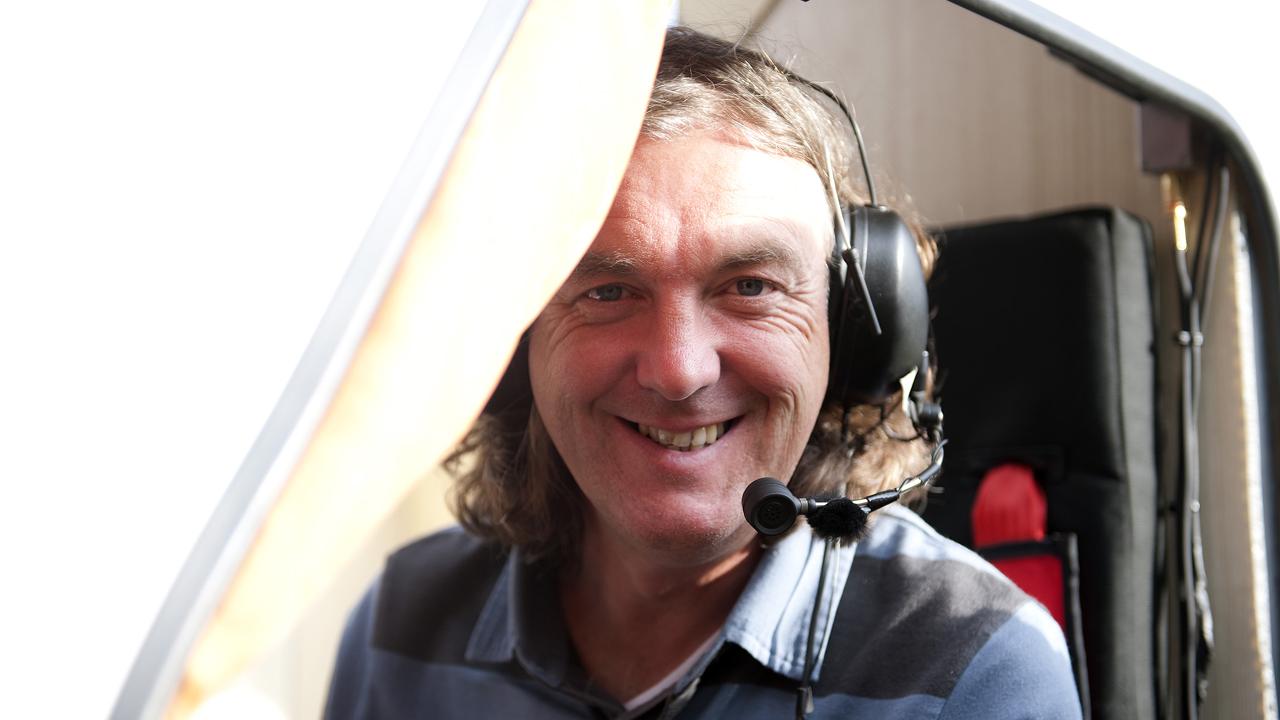 James loves every minute of his flying caravan