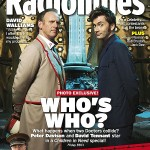 The Fifth Doctor pops into the Tenth Doctor's TARDIS for a Children In Need special.For more classic Doctor Who covers, go to the Radio Times website