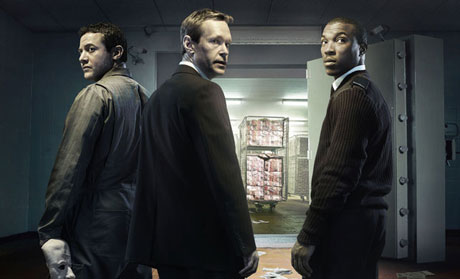 Warren Brown, Steven Mackintosh, and Ashley Walters in 'Inside Men'