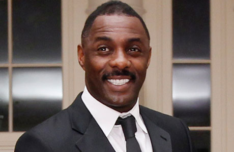 Idris Elba at this past Wednesday's (March 14) White House dinner. (AP Photo/Charles Dharapak)