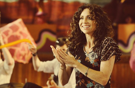 Minnie Driver in 'Hunky Dory'