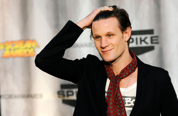 Matt Smith at the 2011 Scream Awards (AP Photo/Chris Pizzello)