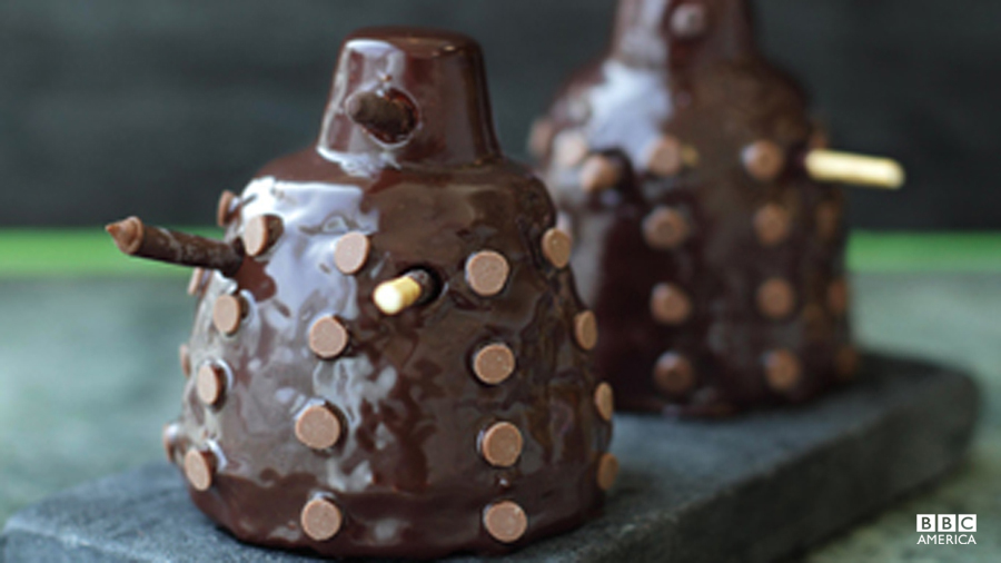 http://www.bbcamerica.com/doctor-who/extras/doctor-who-party-guide/mini-chocolate-dalek-cakes/