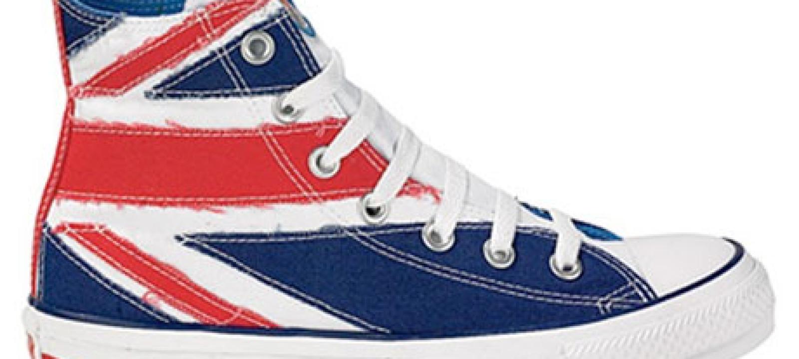 Union flag shoe