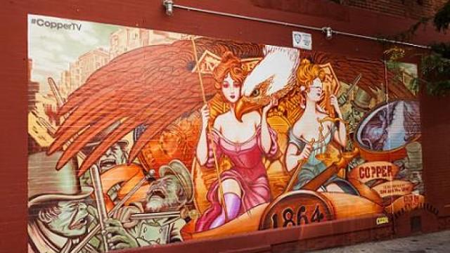 Copper Street Art