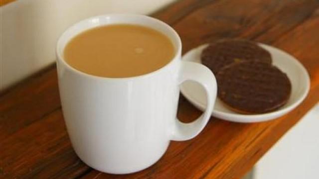 Tea calms Britons