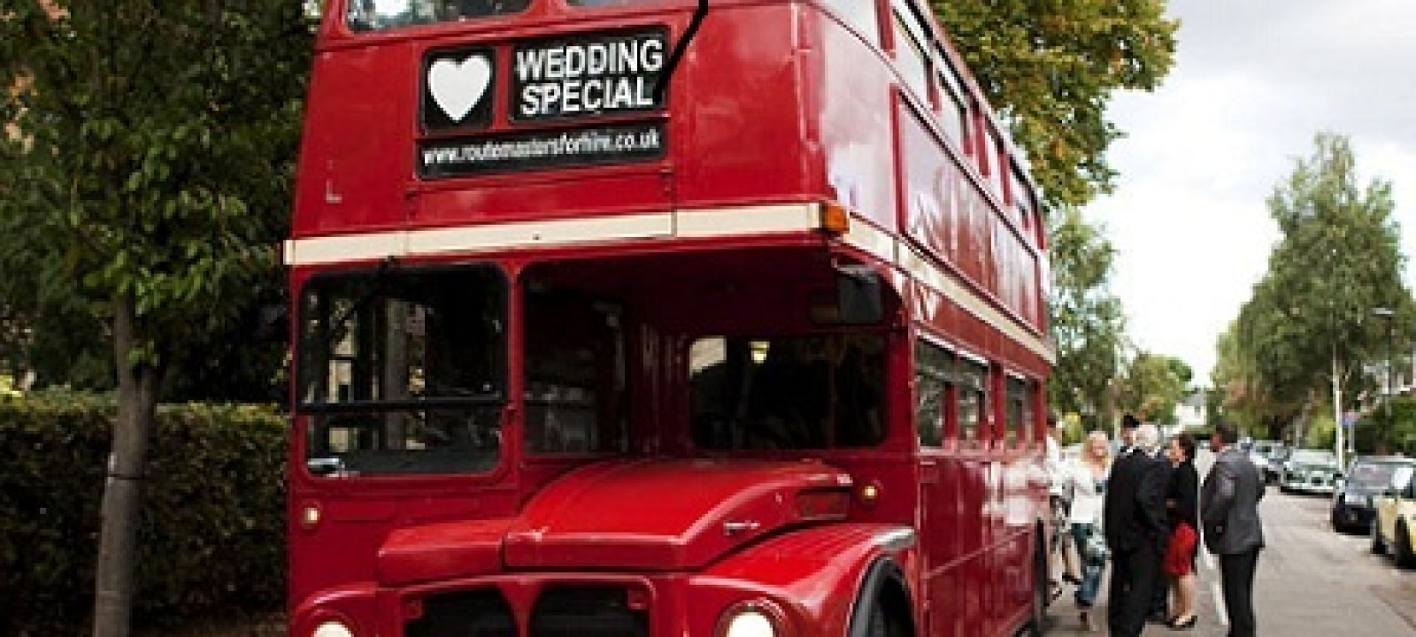 Double Decker Wedding Bus