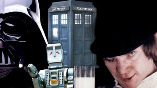 Darth Vader, Marvin the Paranoid Android, the TARDIS and Alex the Droog