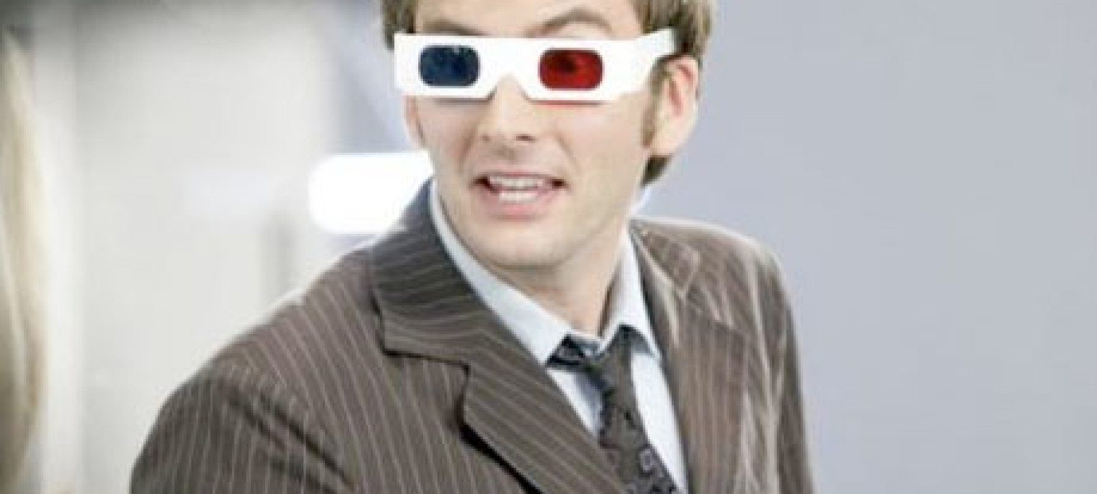 Tenth Doctor's 3D glasses