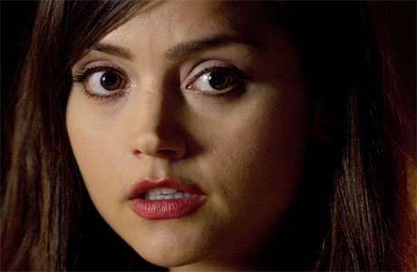 Jenna Louise Coleman in Asylum of the Daleks