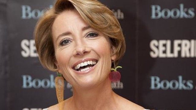 Emma Thompson book signing at Selfridges Oxford Street, London, Britain – 06 Sep 2012
