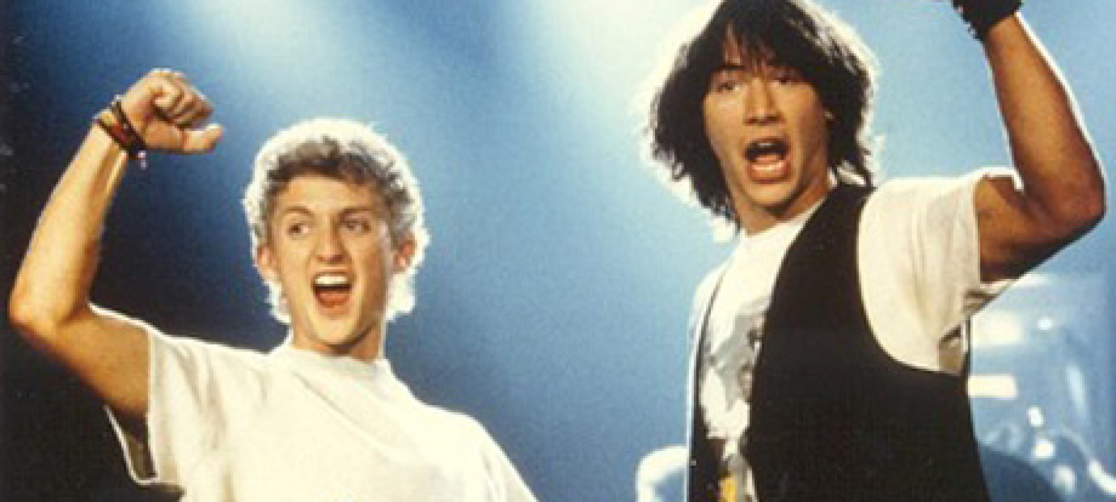 Bill and Ted: every bit as influential as their film said they were