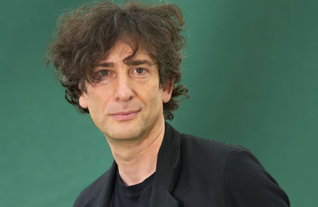 Is it just me, or does Neil Gaiman look like he'd make a pretty good Doctor himself? (Writer Pictures via AP Images)