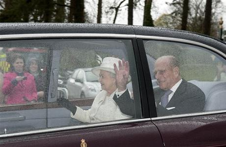 Queen Elizabeth II and Prince Philip visit to Merthyr Tydfil, Wales, Britain – 26 Apr 2012