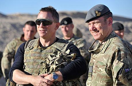 Daniel Craig in Afghanistan