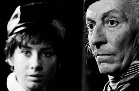 William Hartnell and Carole Ann Ford as the Doctor and Susan