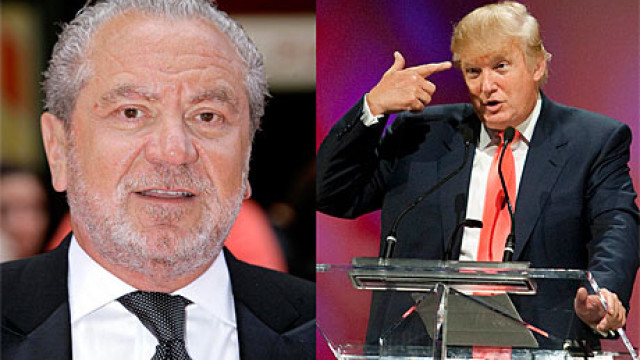 Lord Sugar and Donald Trump