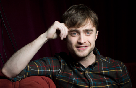 Daniel Radcliffe, who appeared at the Sundance Film Festival for his new movie 'Kill Your Darlings,' poses for a portrait. (Photo by Victoria Will/Invision/AP Images)