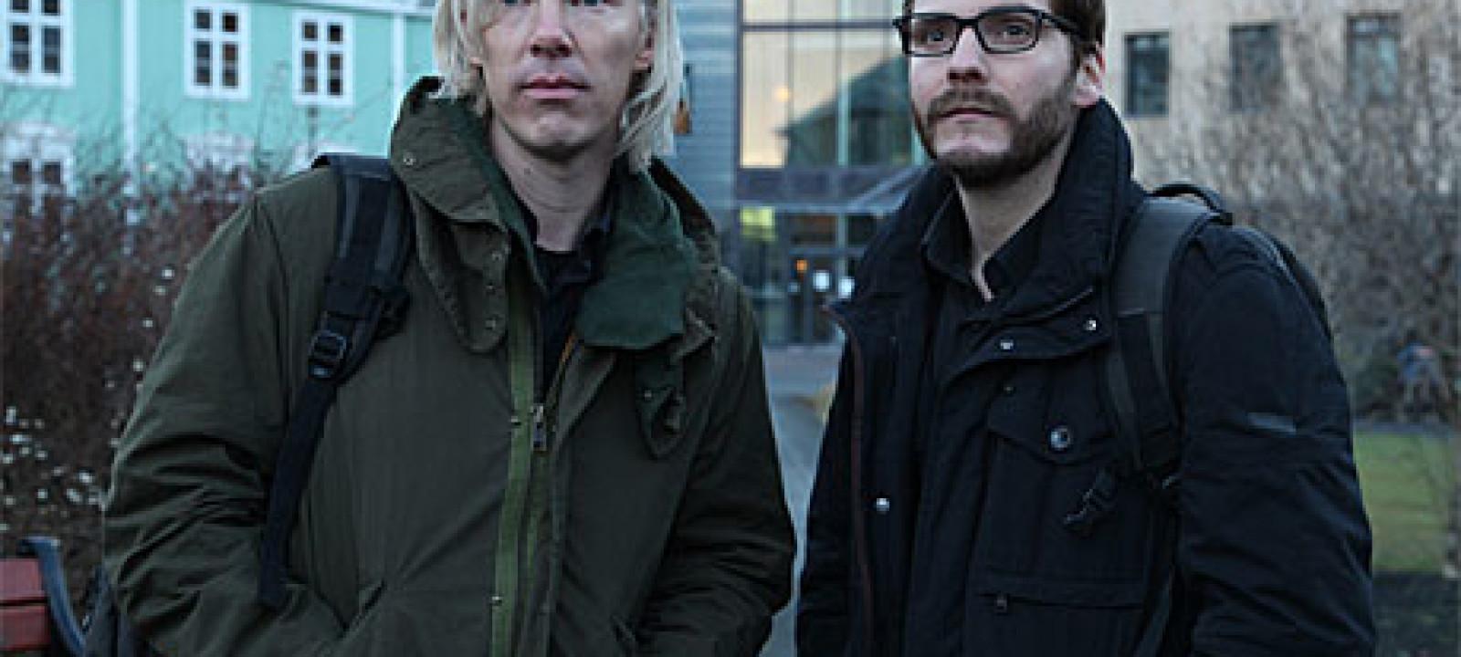 Benedict Cumberbatch as Julian Assange in 'The Fifth Estate'