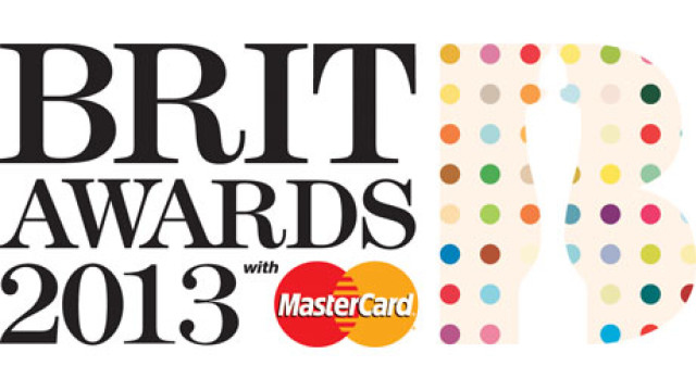 Brit awards logo, designed by Damien Hurst