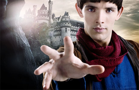 Colin Morgan as 'Merlin'