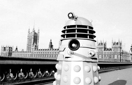 Dalek on Westminster Bridge