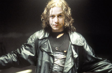 What James McAvoy might look like as The Crow