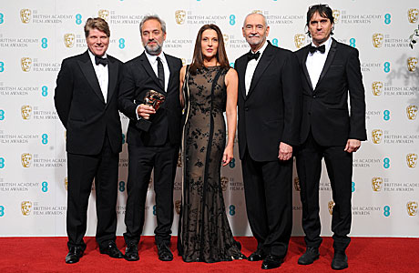 Skyfall team win at the BAFTAs